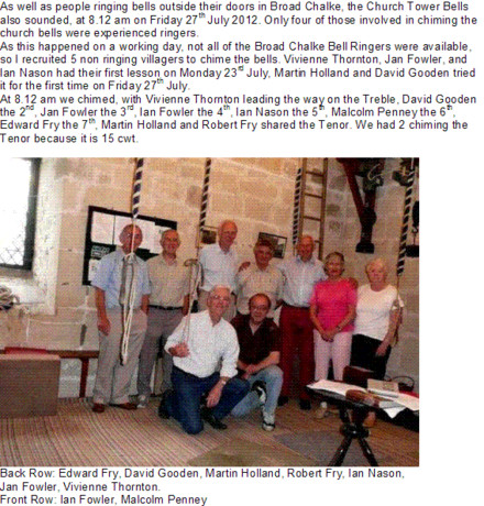 A picture for Broadchalke-Bellringers