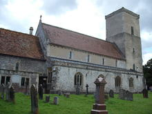 Click for a larger image of Netheravon Church, Wiltshire
