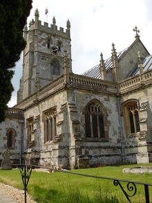 Click for a larger image of Fontmell Magna Church, Dorset