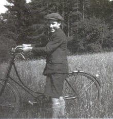Click for a larger image of Sidney Wareham aged 14