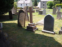 Click for a larger image of Say family graves in Croscombe