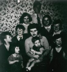 Click for a larger image of My grandmother and children