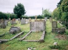 Click for a larger image of Sophia Hiscock's grave, Cann Church, Shaftesbury
