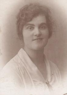 Click for a larger image of Margaret (or May) Wareham