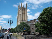 Click for a larger image of Wells St Cuthbert, Somerset
