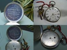 Click for a larger image of Mathias Horler's pocket watch