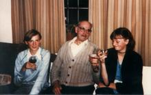 Click for a larger image of Harry Horler and my sister and I