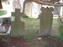 Click for a larger image of William Taylor Say and Mary Say grave