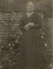Click for a larger image of Harriet Say (nee Rhymes) 1840-1925