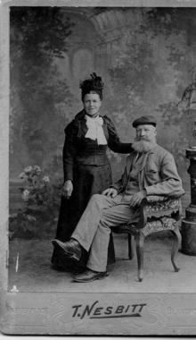 Click for a larger image of Francis Rogers and Emily Hiscock?