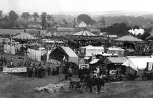 Click for a larger image of Shroton Fair, Dorset c 1900