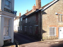 Click for a larger image of Haimes Lane, Shaftesbury