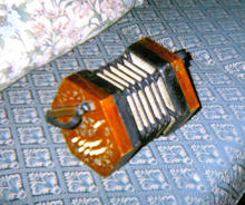 Click for a larger image of William Carver Talbot's accordian