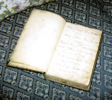 Click for a larger image of Talbot family bible