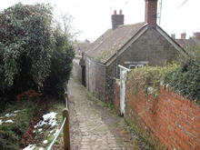 Click for a larger image of Stoney Path, St James, Shaftesbury