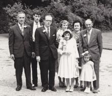 Click for a larger image of Don Wareham's wedding
