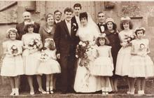 Click for a larger image of Pam Wareham's wedding