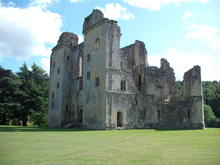 Click for a larger image of Wardour Castle, Wiltshire