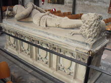 Click for a larger image of Sir John Montacute, Salisbury Cathedral