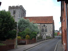 Click for a larger image of St Johns Church, The Soke, Winchester