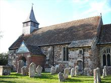 Click for a larger image of St Mary & All Saints Church, Ellingham, Hampshire