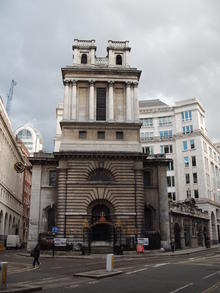 Click for a larger image of St Mary Woolnoth, London
