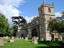 Click for a larger image of Church of the Holy Cross, Seend, Wiltshire