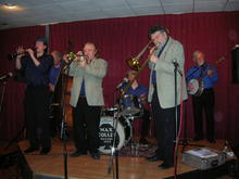 Click for a larger image of Max Collie band