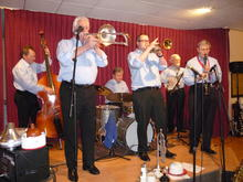 Click for a larger image of Barry Palser's Savoy Jazz Band