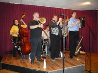 Click for a larger image of October - Jim McIntosh's Jazzaholics