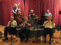 Click for a larger image of Colin Kingwell's Jazz Bandits - August 9th 2013