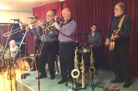 Click for a larger image of Millenium Eagle Jazz Band - September 12th