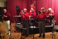 Click for a larger image of Tony Robinson's Jazz Aces - 10th October