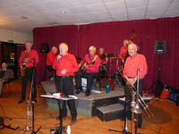 Click for a larger image of Tony Robinson's Jazz Aces - 11th September 2015