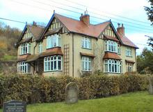 Click for a larger image of North's home in Withycombe