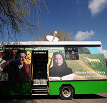Click for a larger image of Mobile Library service